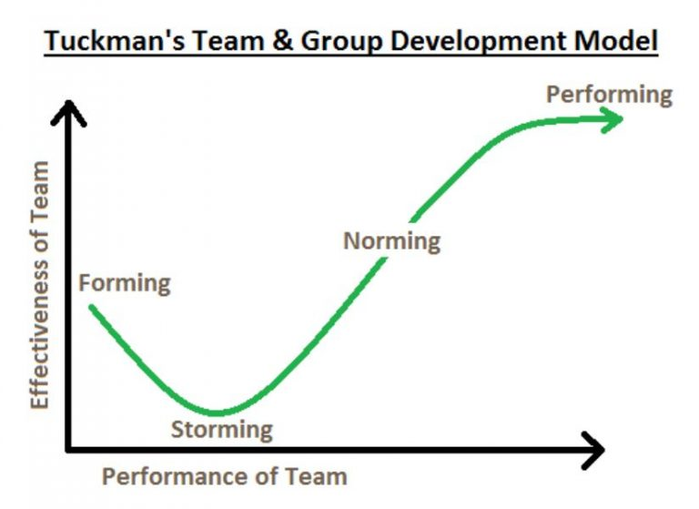 Tuckman's Team and Group Development Model