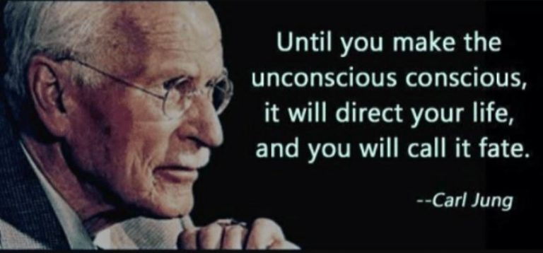 Quote: until you make unconscious conscious it will direct your life and you will call it fate.